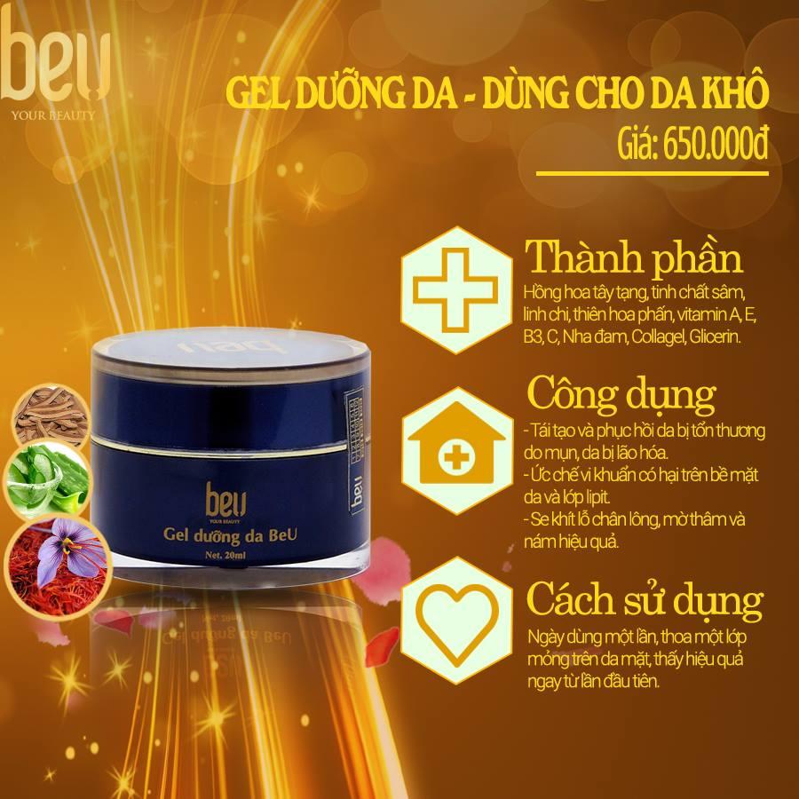 Gel siêu dưỡng BeU, dùng cho da khô - 650.000đ / 20ml