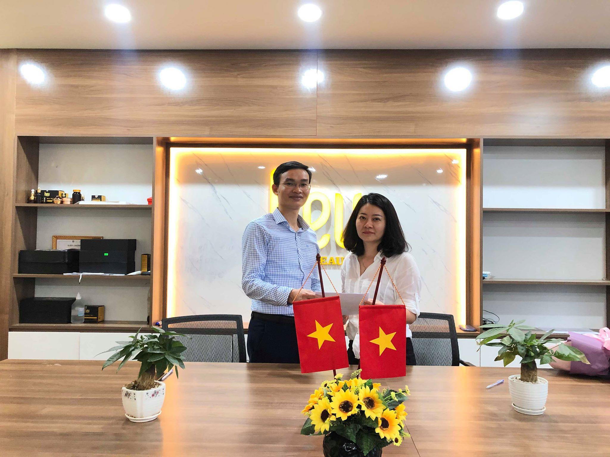 Lễ Ký Kết Hợp Tác BEU Spa Lào Cai