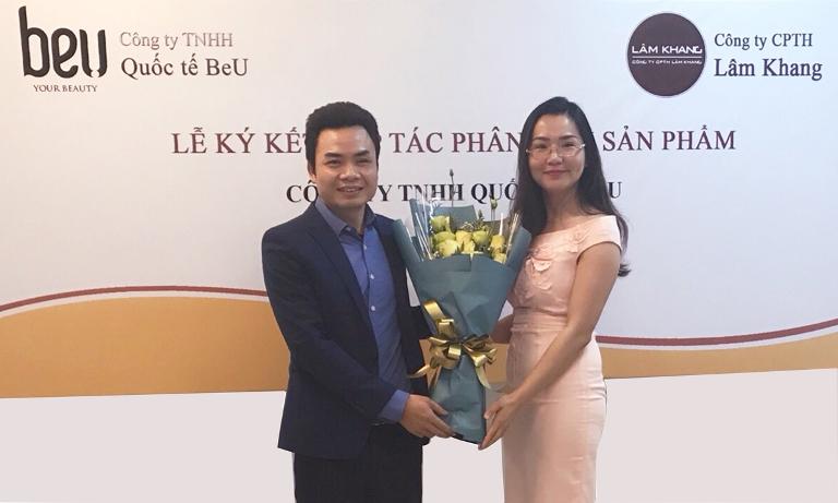 Ký kết hợp tác phân phối sản phẩm BeU & Lâm Khang