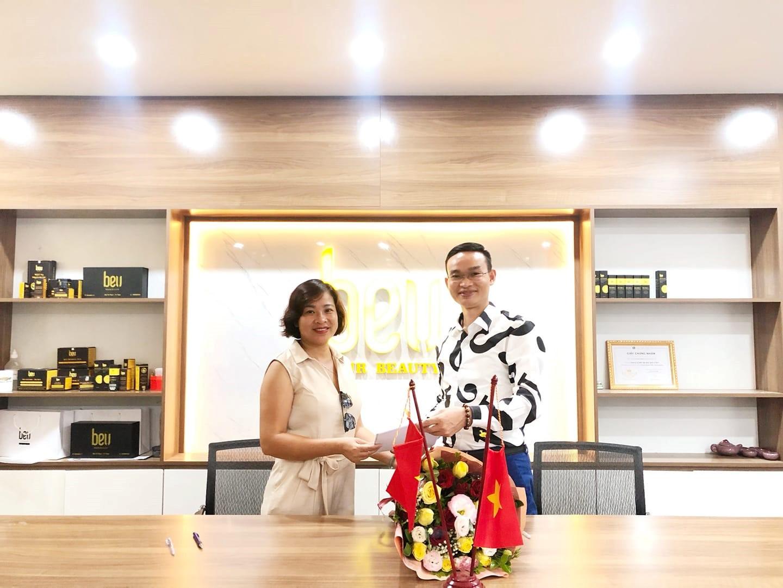 Lễ Ký Kết Hợp Tác Kinh Doanh BEU Spa Thụy Khuê - Hà Nội