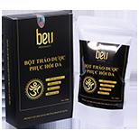 Bột thảo dược đắp mặt phục hồi da, giải độc, trị nhiễm độc kem trộn BeU - 650.000đ / 150 gram