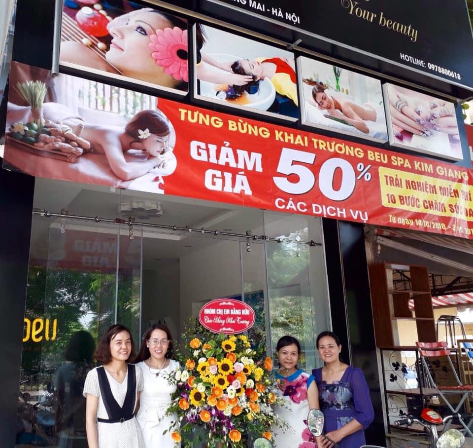 Khai trương BEU SPA Kim Giang - Hoàng Mai, Hà Nội